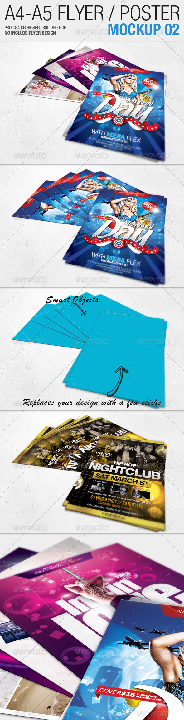 GraphicRiver A4 A5 Flyer Mockup 02 2311042