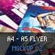A4 - A5 Flyer Mockup 02 - GraphicRiver Item for Sale