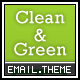 Clean and Green Email - 4 Designs - ThemeForest Item for Sale