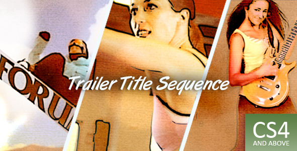 After Effects Project - VideoHive Trailer Title Sequence 2345828
