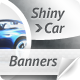 Shiny Car Web Banners - GraphicRiver Item for Sale