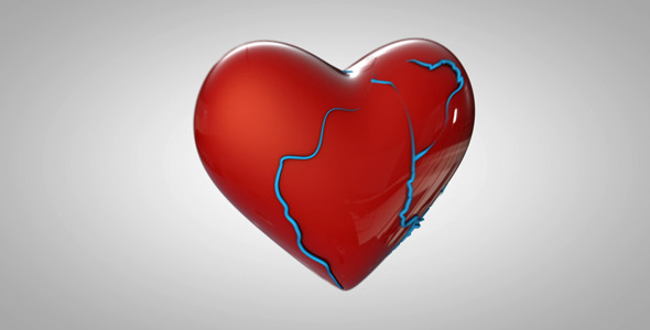 VideoHive Animated Beating Heart 2332632