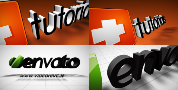 VideoHive Stand Up 3D Logo 2354180
