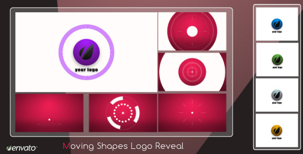 After Effects Project - VideoHive Moving Shapes Logo Reveal 2343442