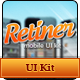 Retiner - mobile UI kit - GraphicRiver Item for Sale
