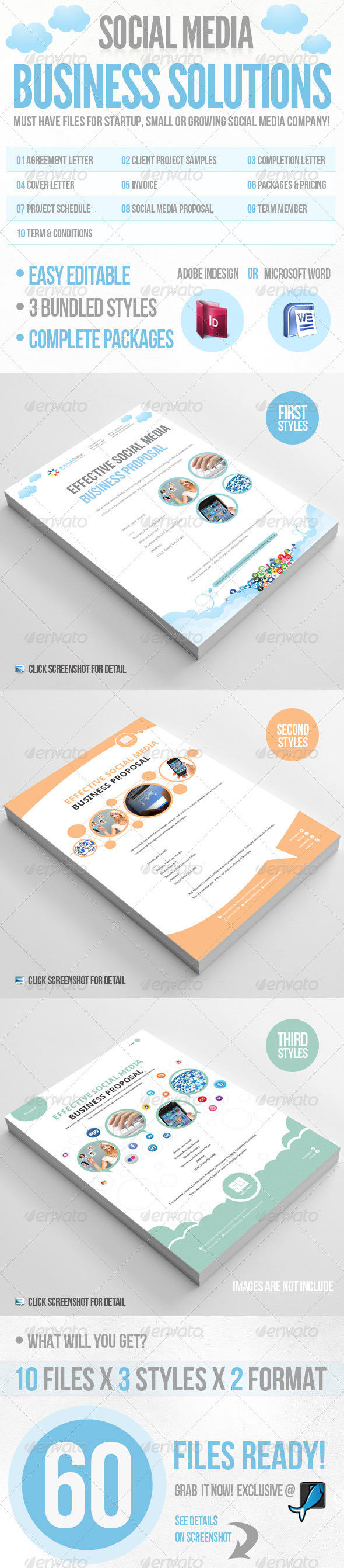 GraphicRiver Social Media Business Solution 2357275