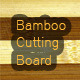 Bamboo Cutting Board - GraphicRiver Item for Sale