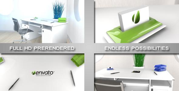 VideoHive Elegant Modern Office Logo Sting 2330366