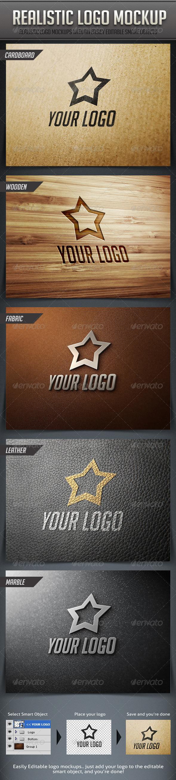 GraphicRiver Realistic Logo Mockup 2363899