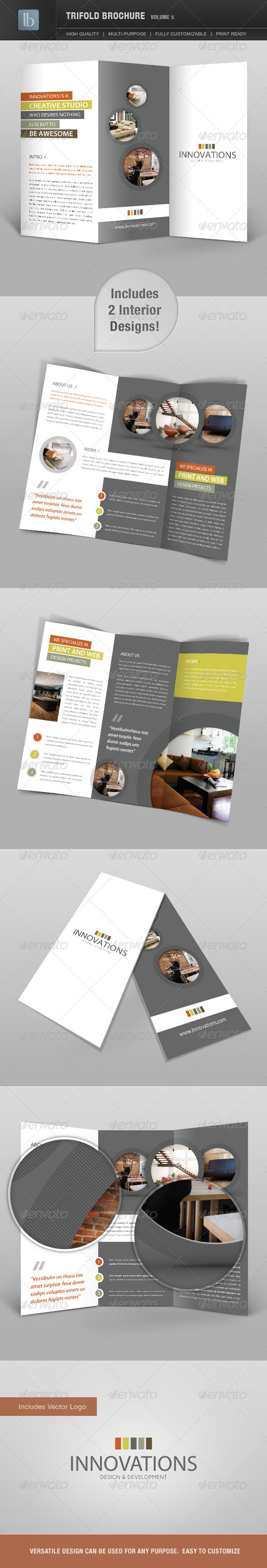 GraphicRiver Trifold Brochure Volume 5 2363921