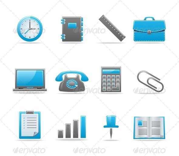 GraphicRiver Glossy icon set 85113