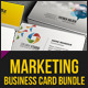 Marketing Business Card Bundle - GraphicRiver Item for Sale
