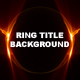 Ring Title Background - VideoHive Item for Sale