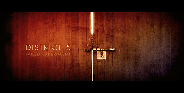 After Effects Project - VideoHive District 5 2368819