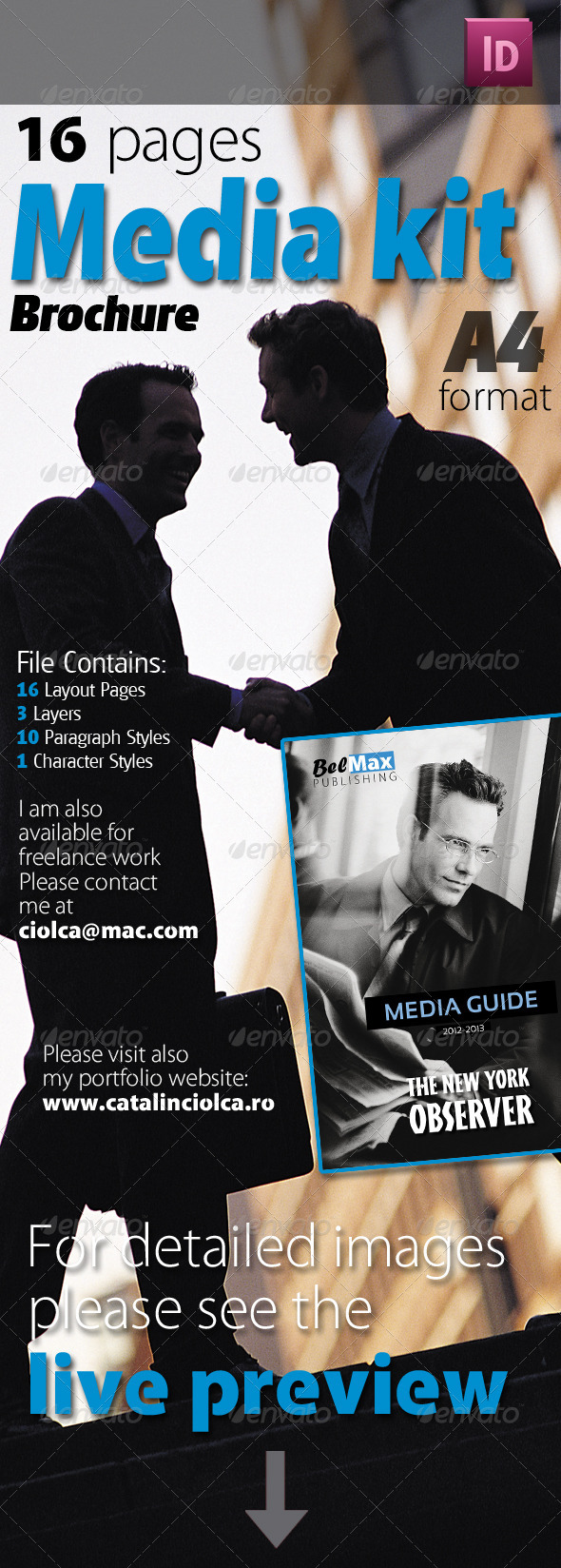 GraphicRiver 16 Pages Media Kit Brochure 2370287