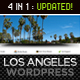 Los Angeles - A Premium Wordpress Theme - ThemeForest Item for Sale