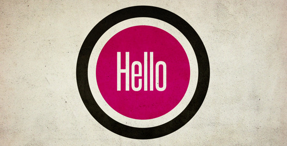 After Effects Project - VideoHive Hello and Welcome to.. 268080