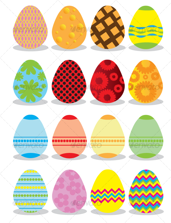 GraphicRiver Easter Eggs 87708