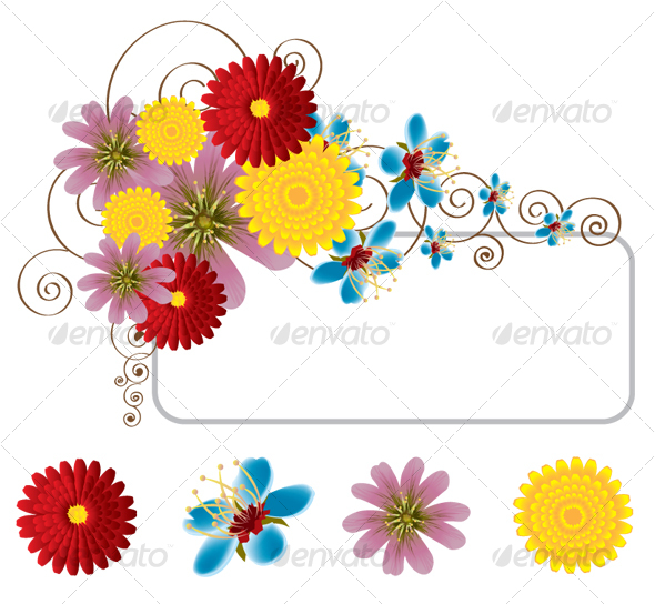 GraphicRiver Flowers Banner 87710