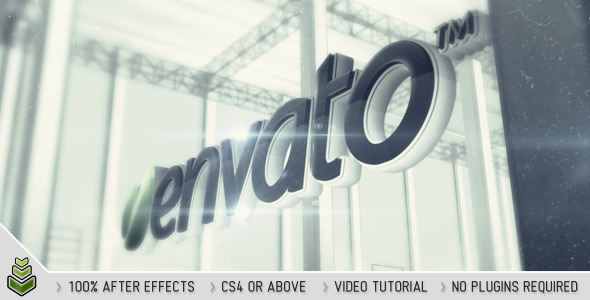 VideoHive Floating Logo 2376281