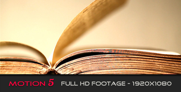 VideoHive Old Book 2378281