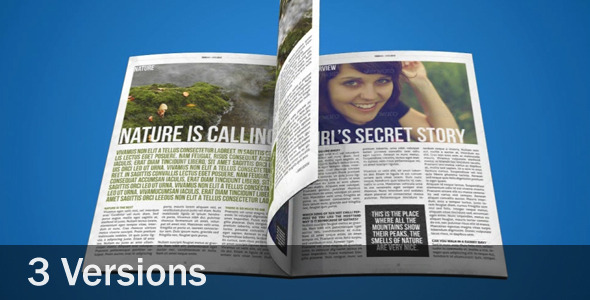VideoHive 3D Magazine Animation 2380831