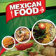 Mexican Restaurant Menu Flyer  - GraphicRiver Item for Sale