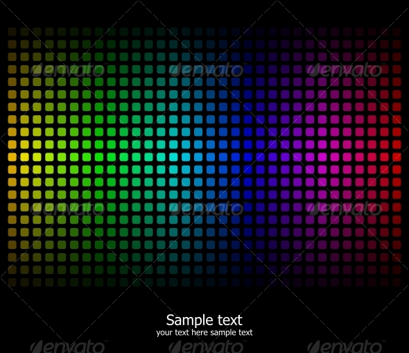 GraphicRiver Abstract rainbow colours background 88039