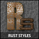 Rust styles - GraphicRiver Item for Sale