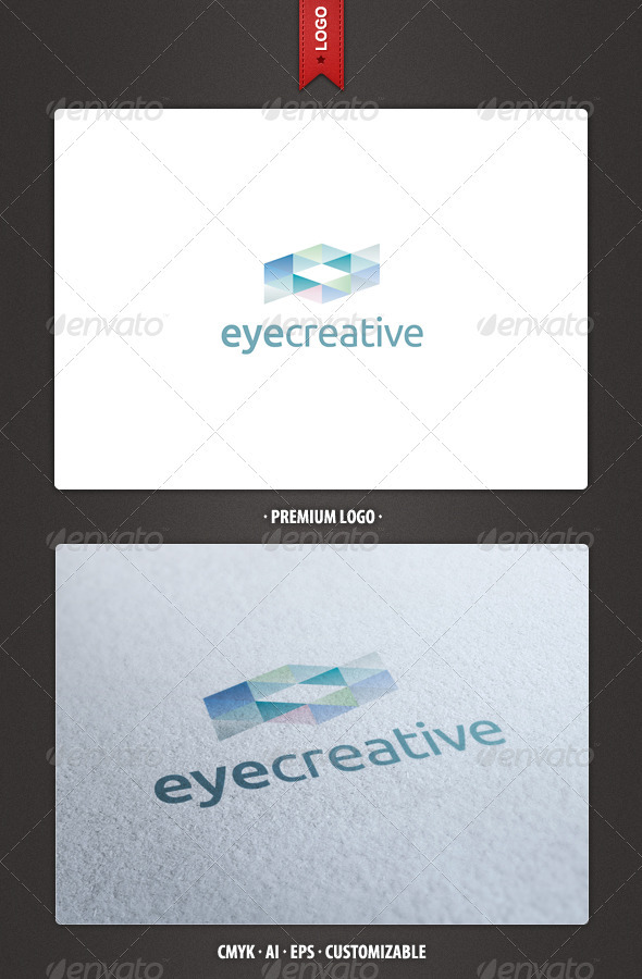 GraphicRiver Abstract Eye Creative Logo Template 2390816
