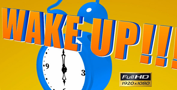 VideoHive Cartoon Alarm Clock 2393406