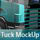 Truck Mock-up - GraphicRiver Item for Sale