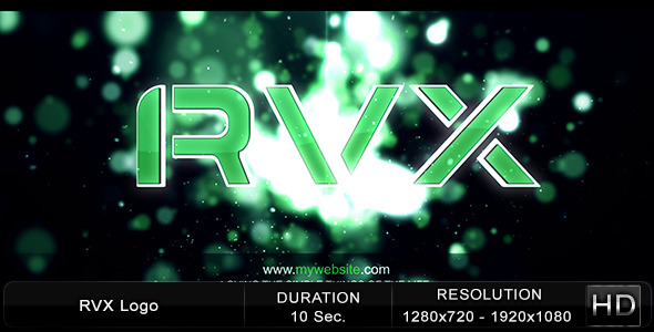 After Effects Project - VideoHive RVX Logo 2393884