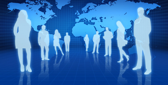 VideoHive Business People In Finance World 2395460