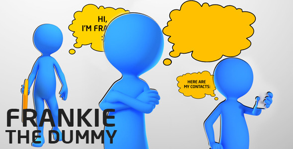 VideoHive Frankie the Dummy 2383962