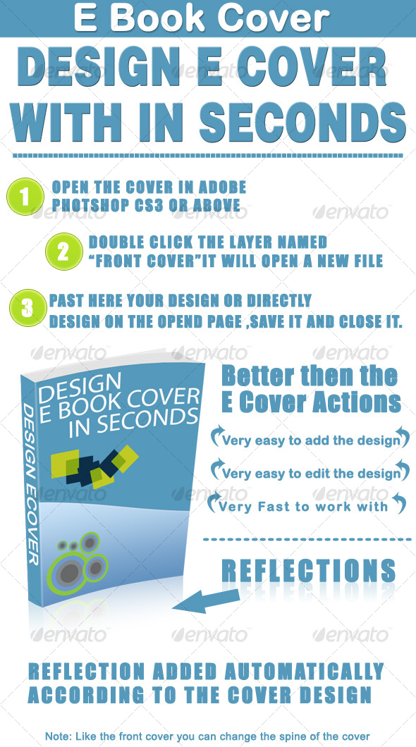 GraphicRiver Design E Book Cover in Seconds 87058
