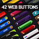 42 Web Buttons collection - GraphicRiver Item for Sale
