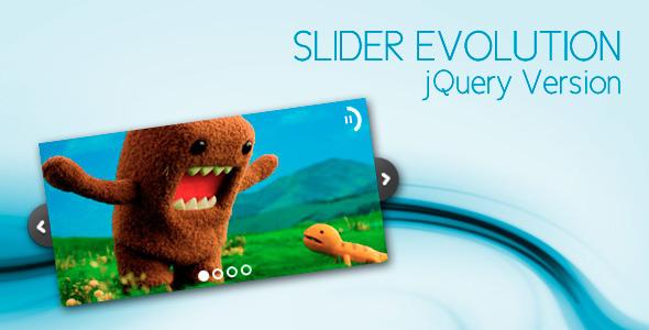 CodeCanyon jQuery Slider Evolution (4 skins) - Rip 270714 Src