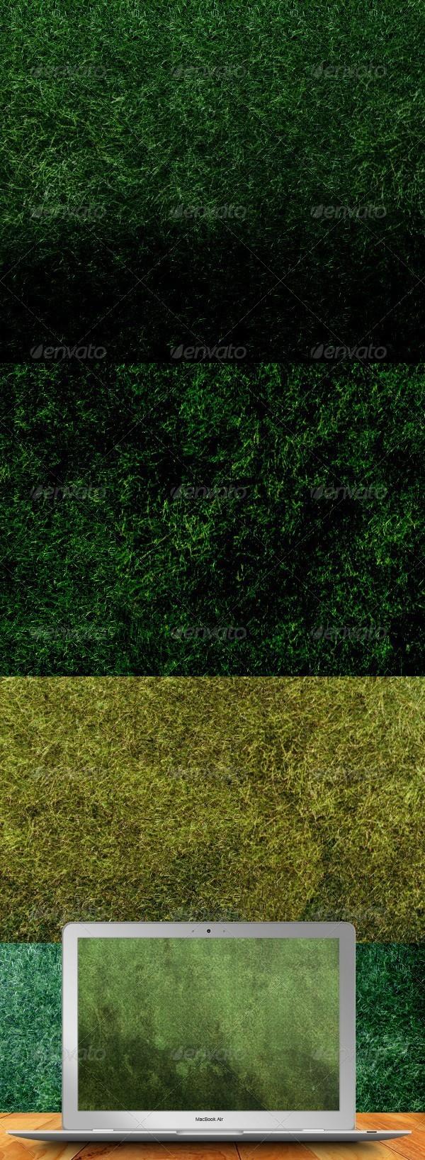 GraphicRiver Grunge Grass Textures 262874
