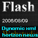 Dynamic xml news with horizon move effect - ActiveDen Item for Sale