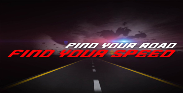 VideoHive Feel The Speed Intro 2390304