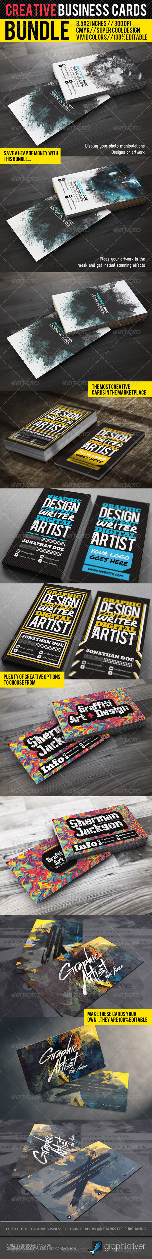 GraphicRiver Creative Business Card Premium Bundle 1962755