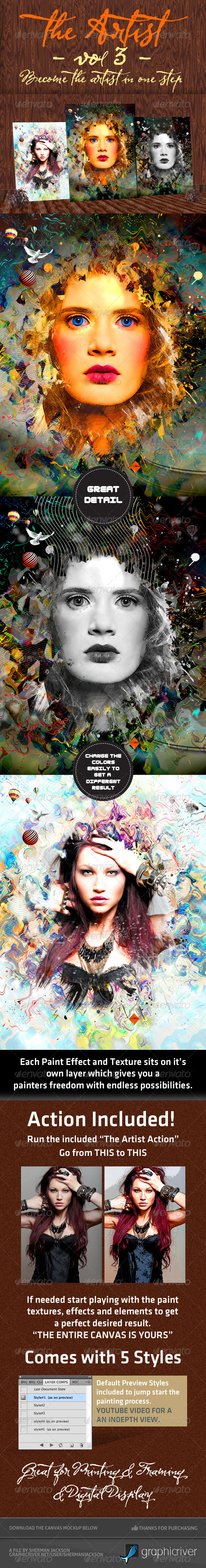 GraphicRiver The Artist Volume3 1995077