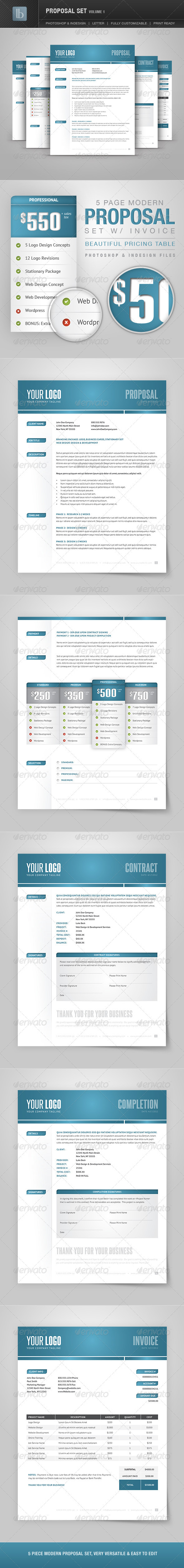 GraphicRiver Proposal Set Volume 1 2408728