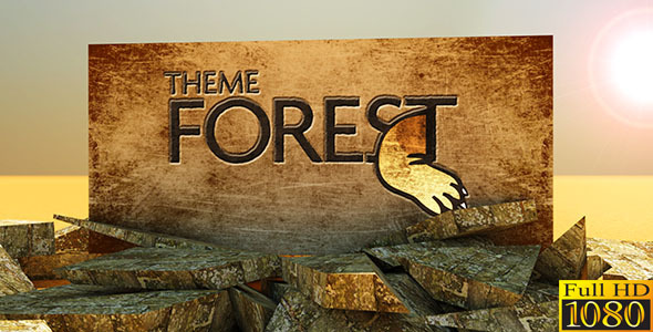 After Effects Project - VideoHive 3D Stone Logo 2409804