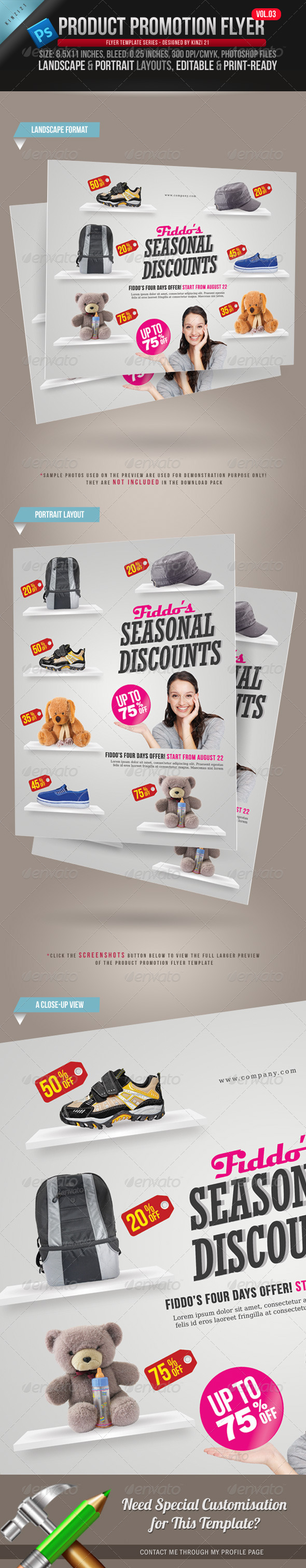GraphicRiver Product Promotion Flyer Vol 03 2411413
