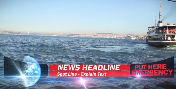 After Effects Project - VideoHive BREAKING NEWS FLASH V1 LOWER THIRD 88839