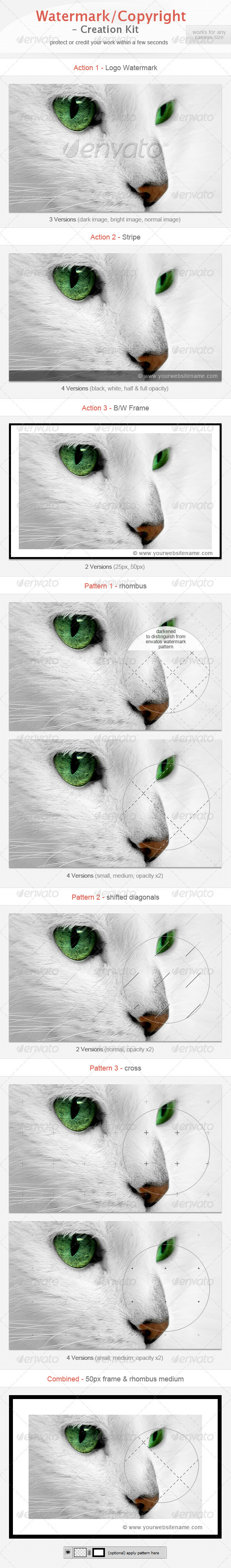 GraphicRiver Watermark Copyright Creation Kit 2416316