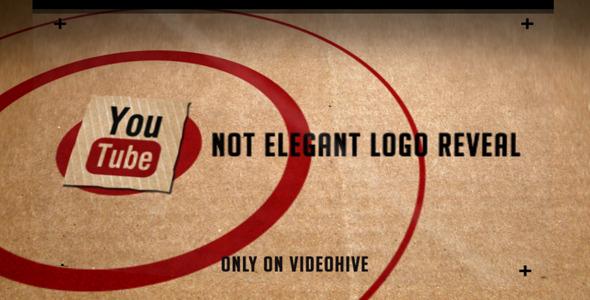 After Effects Project - VideoHive Not Elegant Logo Reveal 2416953