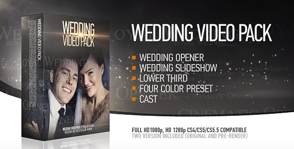 After Effects Project - VideoHive Wedding Pack 2418234